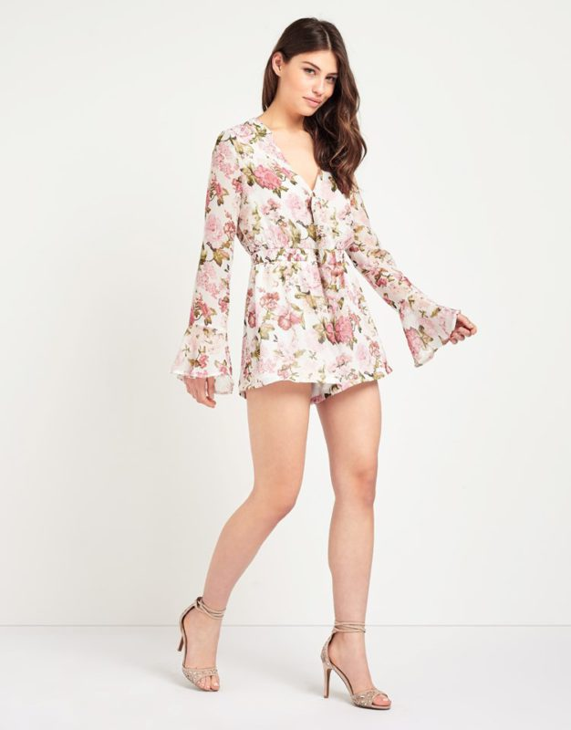 floral playsuit fashion union at Lispy
