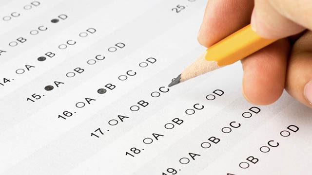 GCSE test