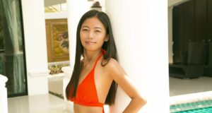 Thai lady in bikini