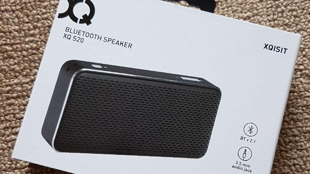 Xqisit S20 bluetooth portable speaker