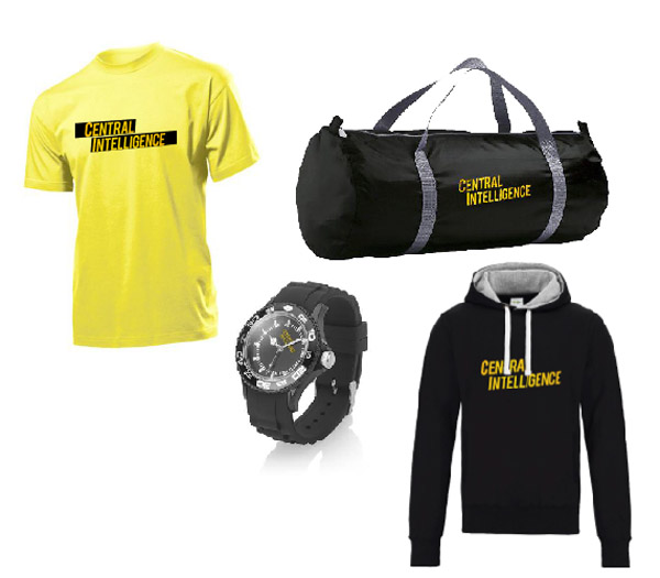 Central Intelligence Merch