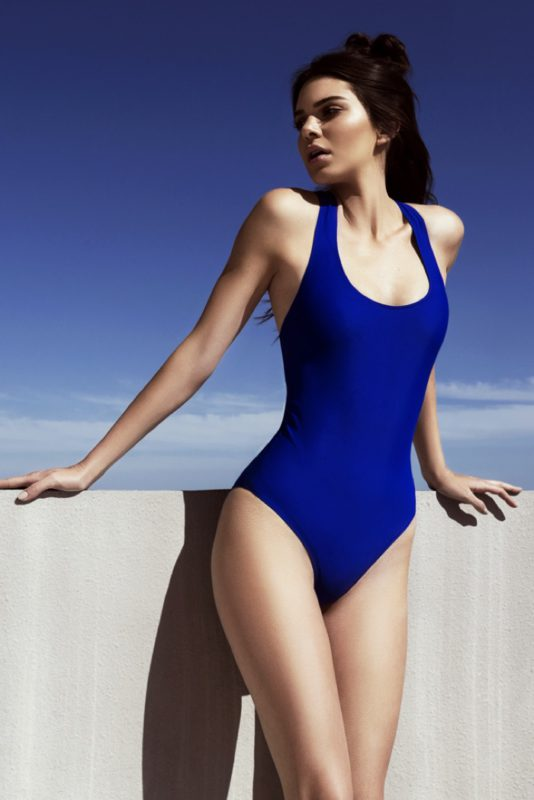 Kendall + Kylie Tape Detailed One-Piece Swimsuit