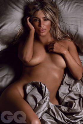 Kim Kardashian british GQ by Tom Munro