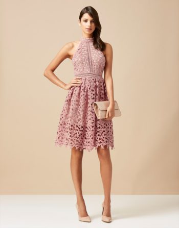 Love Triangle High Neck Always And Forvever Dress