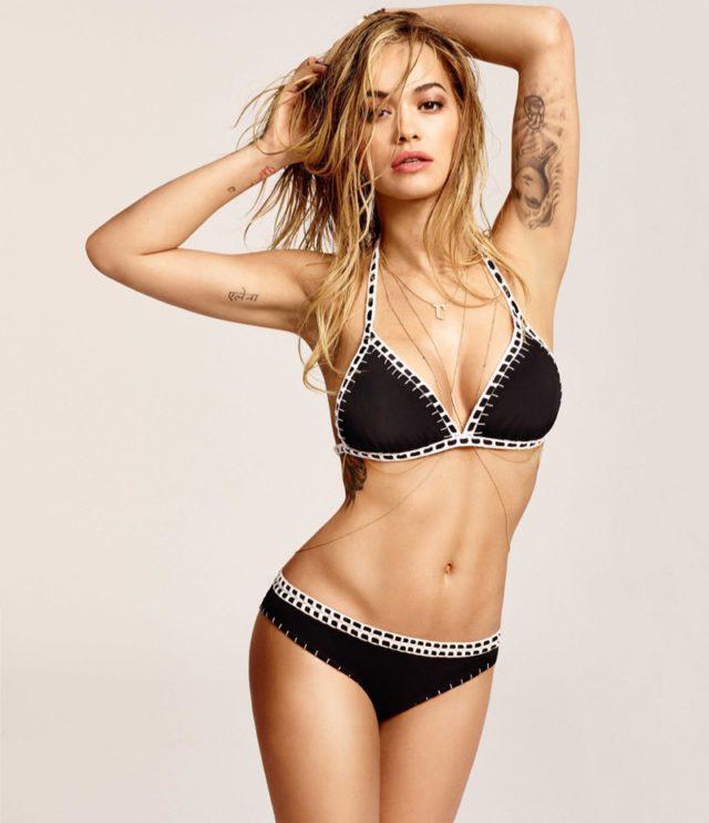 Rita Ora stars in Tezenis' 2016 swimsuit campaign