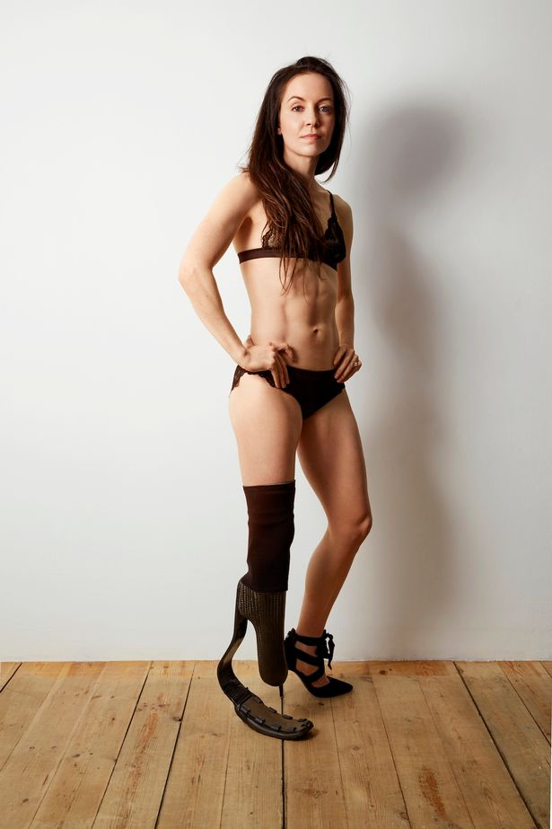 Stef Reid in lingerie