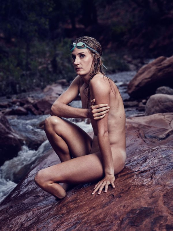 Allysa Seely poses in ESPN's 2016 Body Issue