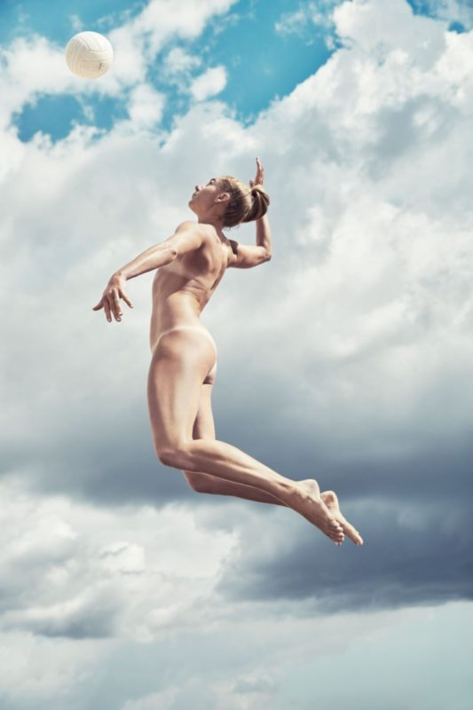 April Ross poses in ESPN's 2016 Body Issue 2