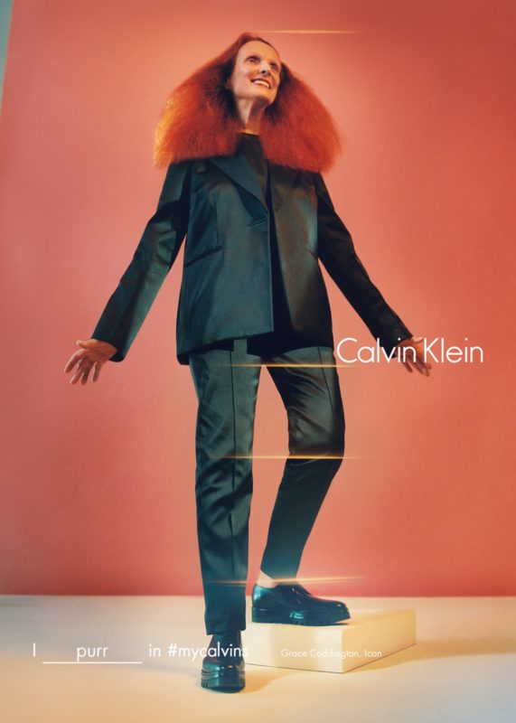 Grace Coddington for Calvin Klein Fall:Winter 2016 Campaign