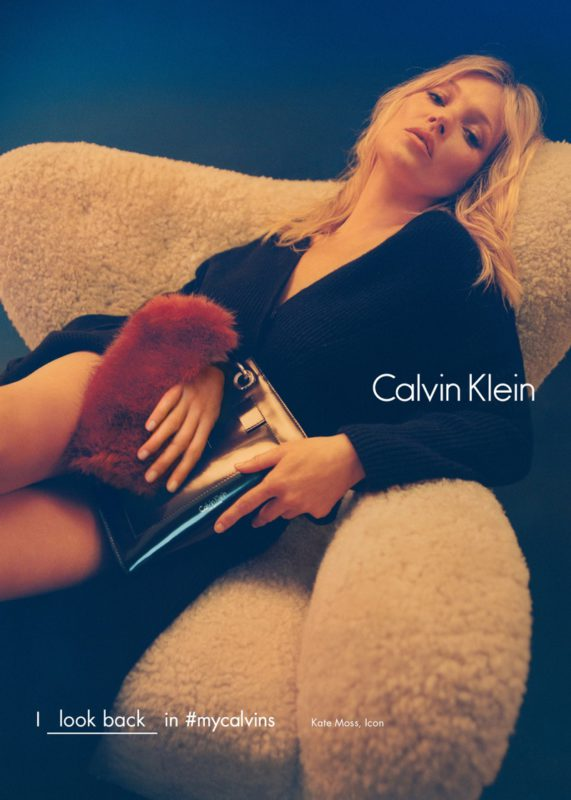 Kate Moss for Calvin Klein Fall: Winter 2016 Campaign