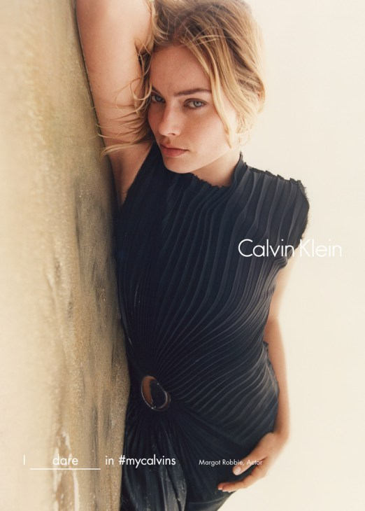 Margot Robbie for Calvin Klein Fall: Winter 2016 Campaign
