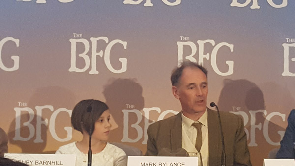 The BFG Press Conference 2