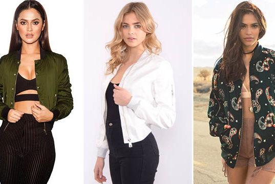 best bomber jackets for summer
