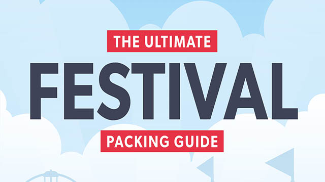 festival guide to packing
