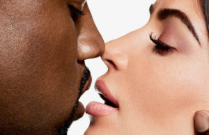 Kim and Kanye get intimate on the cover of Harper's Bazaar