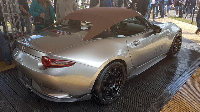 mazda mx 5 at good wood