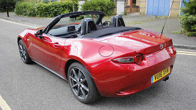 mazda mx 5 review exterior