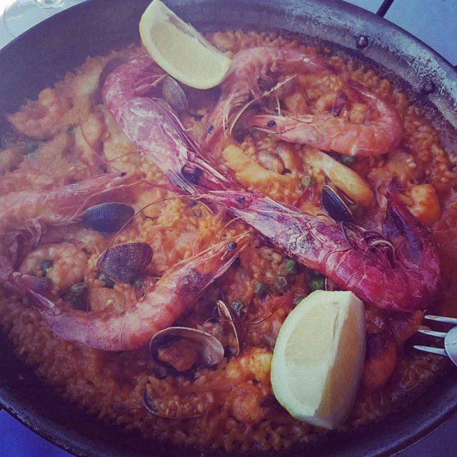 paella at marbella