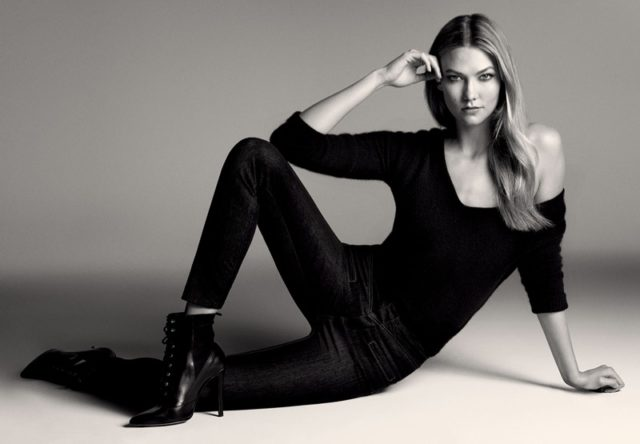 Karlie Kloss and Jourdan Dunn do casual chic for Lui Jo's denim campaign