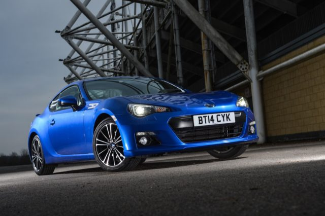 Pioneer Subaru BRZ car with in car entertainment