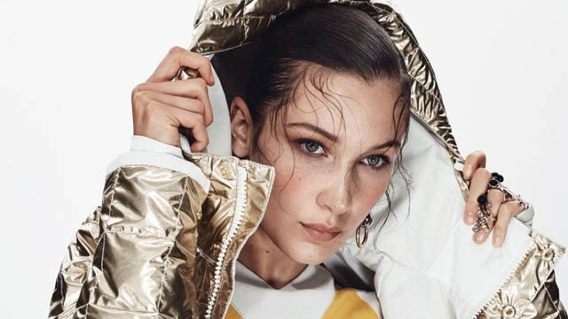 bella hadid glamour magazine