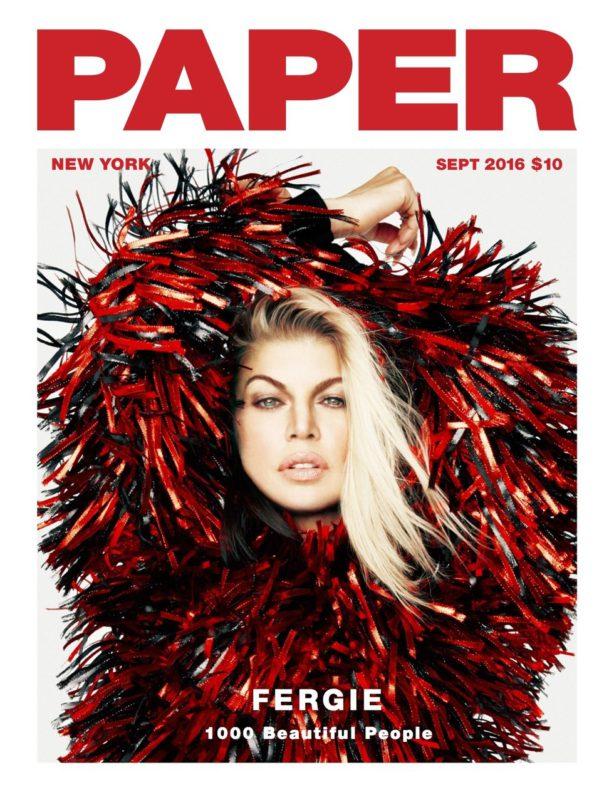 fergie paper magazine