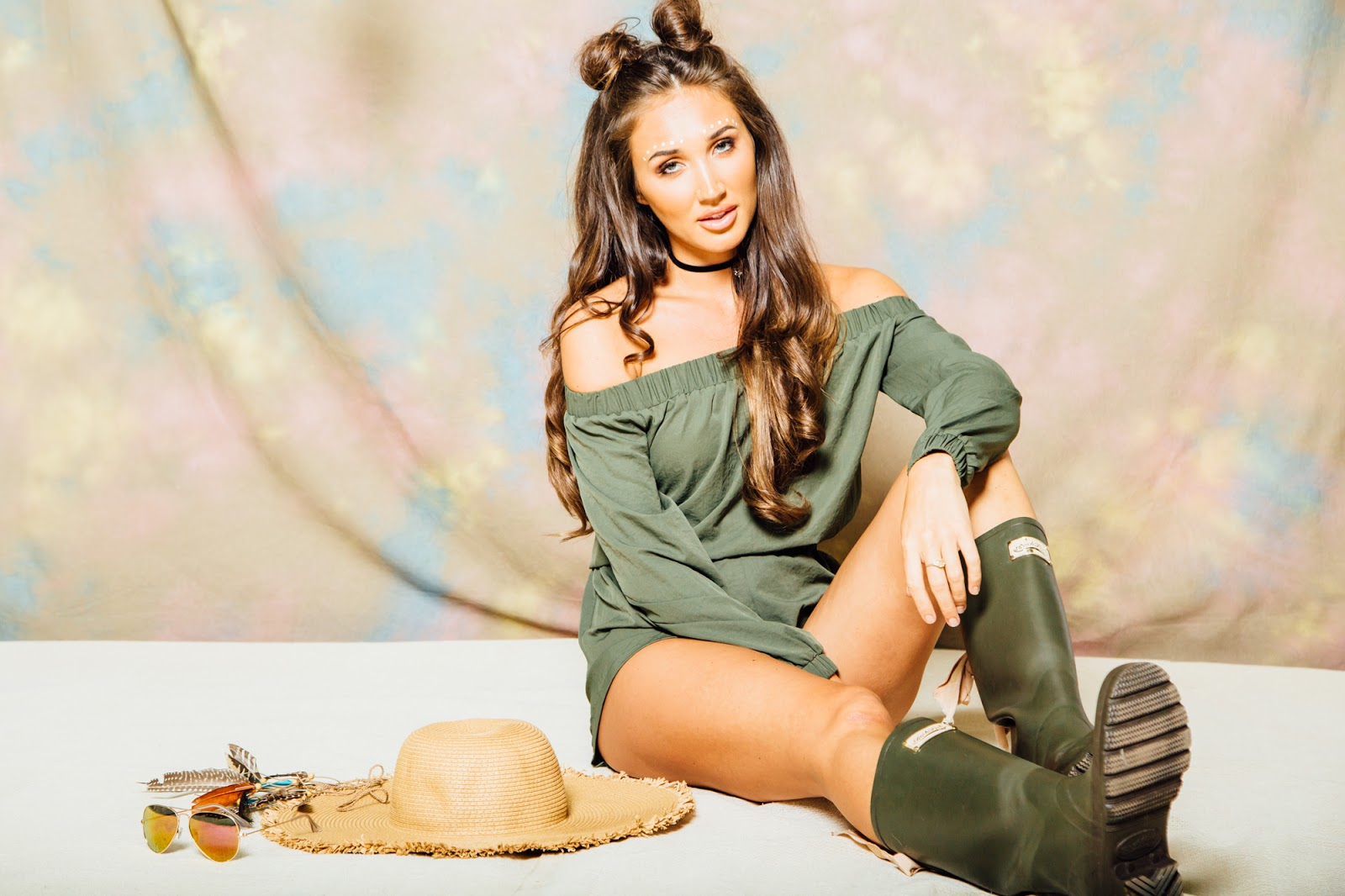 6643819c3c97 Megan McKenna has a launched a sexy and affordable stunning clothing line  via MissPap featuring bikini s