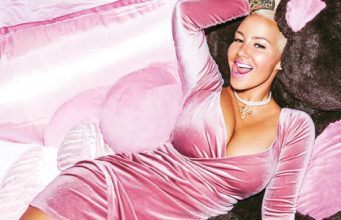 Amber Rose X Missguided slayin hard campaign