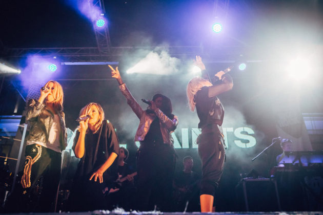 All Saints at Ibiza Rocks - Photo: Luke Dyson