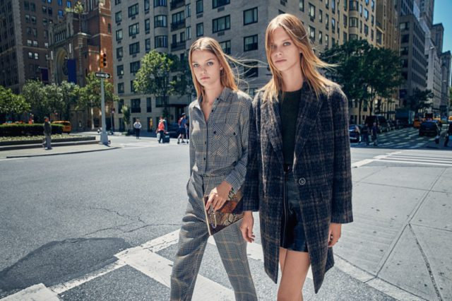 Mango takes its fall 2016 campaign to the streets of New York City