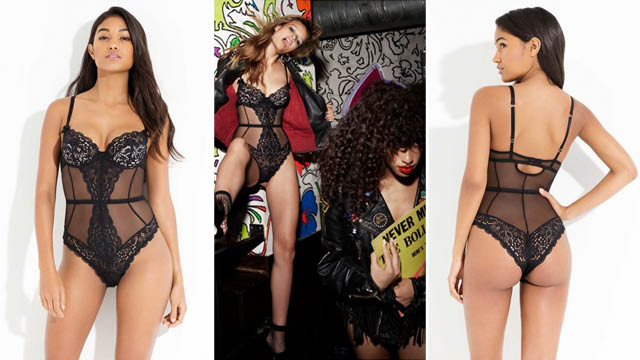 Reia Wired Bodysuit from L'agent by Agent Provocateur