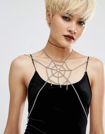Regal Rose Halloween The Lair Body Harness from Asos