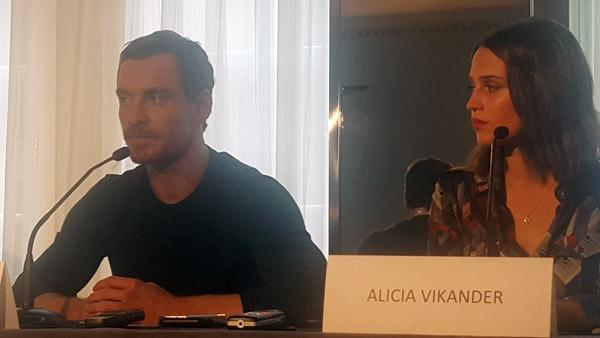 Alicia Vikander & Michael Fassbender - The Light Between Oceans