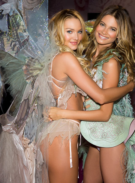 Angels Candice & Behati – The Victoria's Secret Fashion Show 2015
