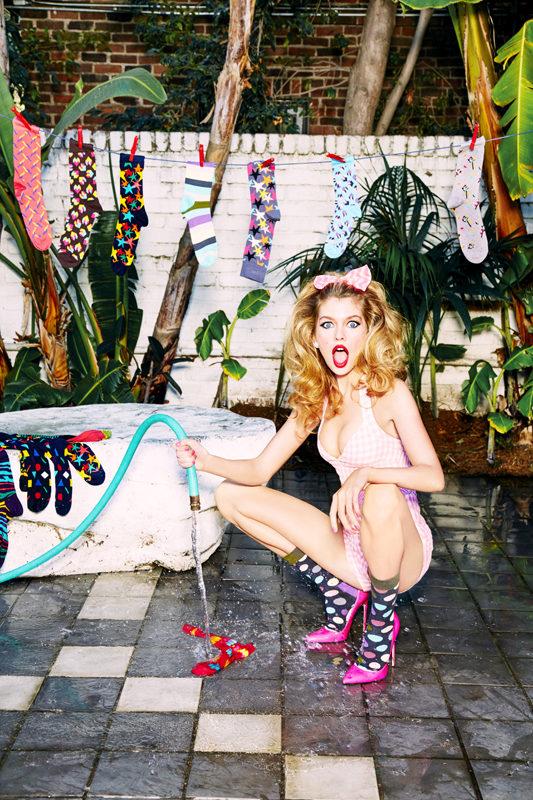 Happy Socks x Ellen Von Unwerth