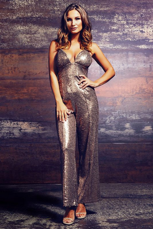 limited-edition-sam-faiers-wears-bronze-sequin-jumpsuit