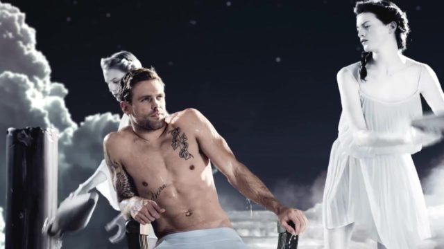 Nick Youngquest flaunts his ripped torso for Paco Rabanne