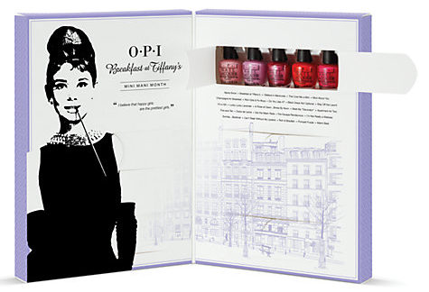 OPI Breakfast At Tiffany's Mini Mani Month Advent Calendar Collection