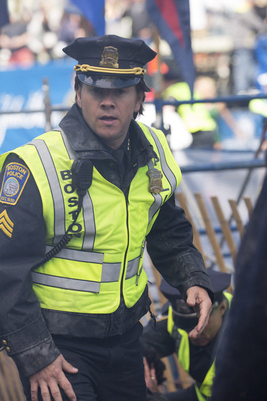 Mark Wahlberg as Tommy Saunders in PATRIOTS DAY to be released by CBS Films and Lionsgate. Photo Credit: Karen Ballard