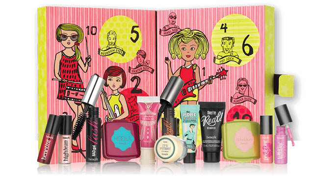 beauty advent calendar 2016 - benefit cosmectics