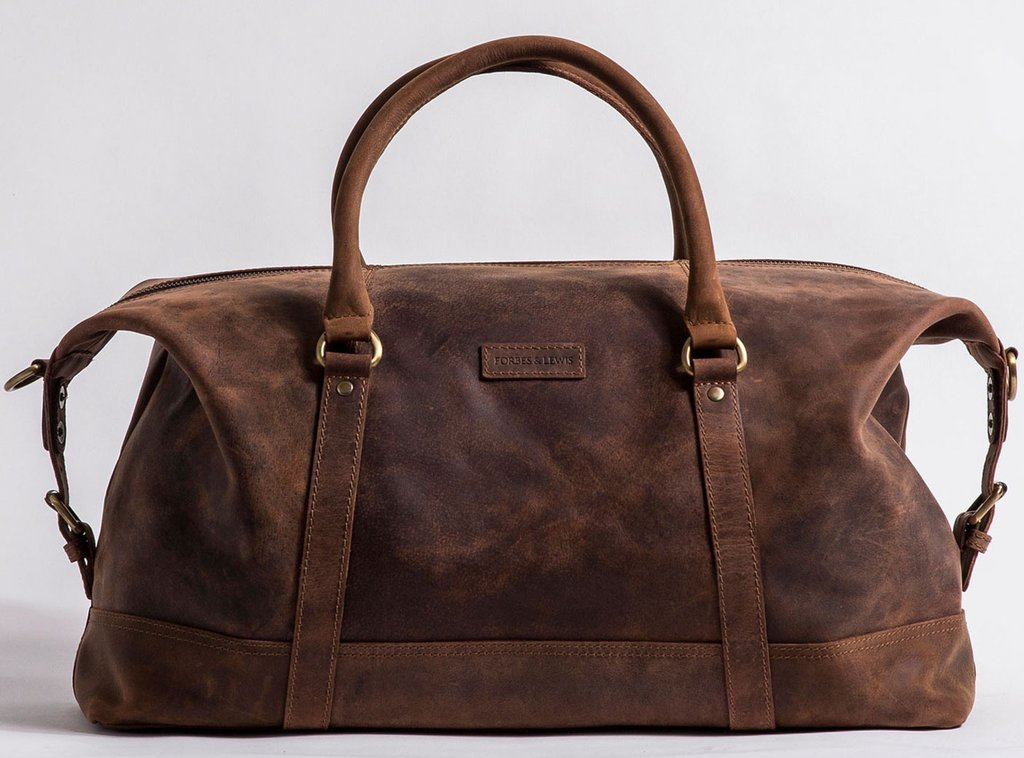 Somerset holdall leather large