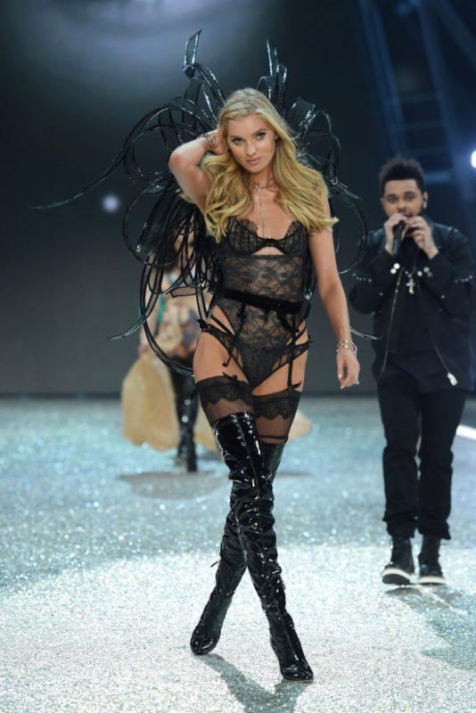 Elsa Hosk walks the 2016 Victoria's Secret Fashion Show