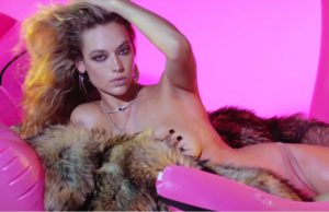 Hannah Ferguson wears DSquared2 in the new Hype Williams Teaser