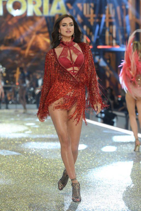 Irina Shayk walks the 2016 Victoria's Secret Fashion Show