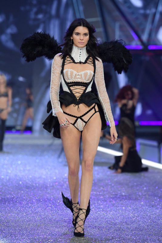 Kendall Jenner walks the 2016 Victoria's Secret Fashion Show