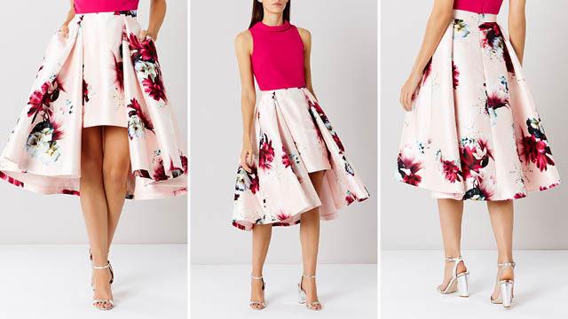 Toulouse Printed Skirt via Coast