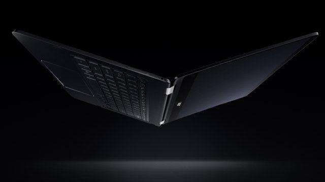 acer spin 7 laptop black