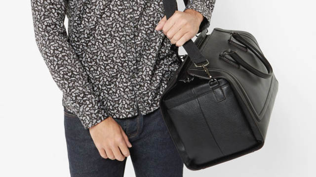 df4a0513c15c65 10 Best Leather Weekend Bags   Holdalls for trendy men - FLAVOURMAG