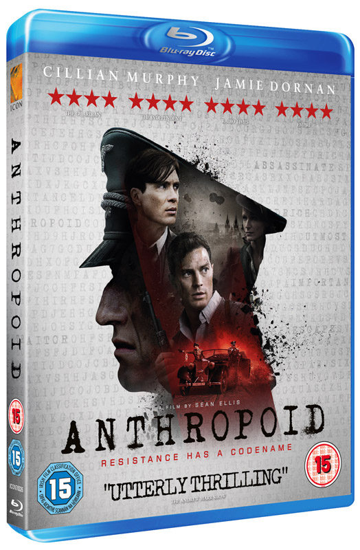 Anthropoid Blu-ray