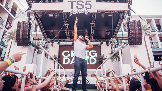 Craig David's TS5 Pool Party returns to Ibiza Rocks Hotel